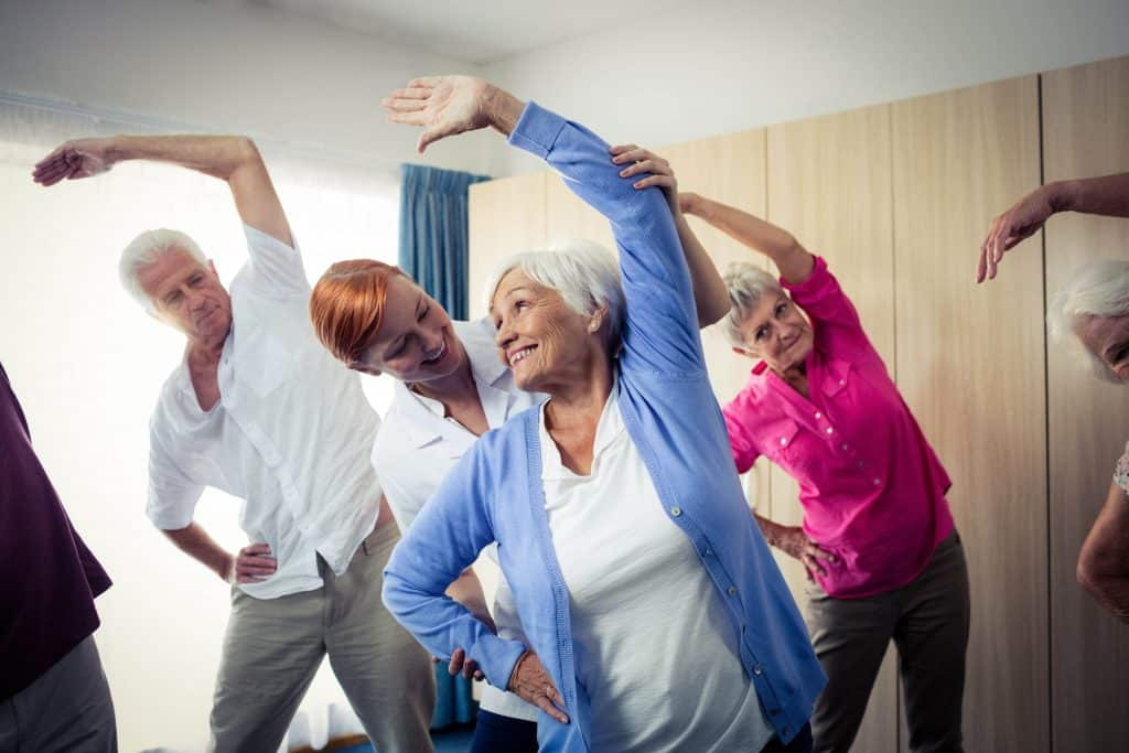 Exercise for seniors Partners for Home
