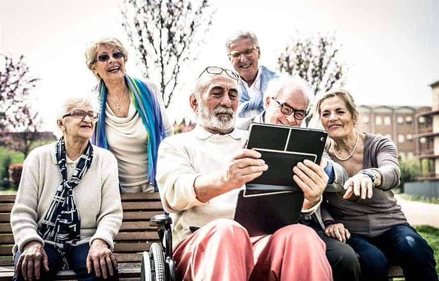 Social Seniors Lead Healthier Lives